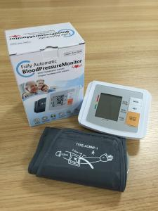 China Automatic Blood Pressure Cuff Machine , Home Use Arm Blood Pressure Monitor on sale