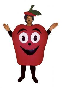 China Baked apple Mascot costume,Fruit mascot costume, Plush mascot, fruit mascot costumes on sale