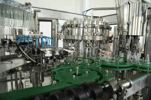China Can Beer Filling Machine , Automatic Wine Bottle Filler Aseptic And High Speed on sale