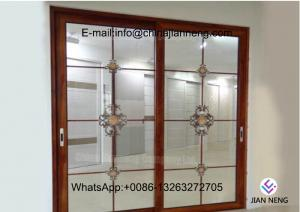 China Excellent Impermeability Aluminum Frame Sliding Windows Damp Proof For Houses on sale