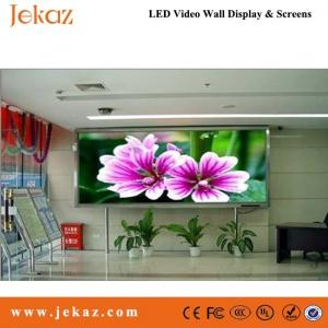 China JEKAZ Indoor P2.5 pantalla LED wholesale for commercial advertising business usage on sale