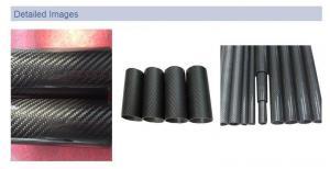 China Twill 30mm carbon fiber tube, 30mm 3k carbon fiber pipe,carbon tube 40mm on sale