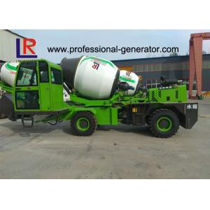 China 2.6 Cubic Meters Concrete Mixer Truck , Maximum grade 30° CE ISO on sale
