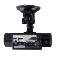 China DC 12v 120degree 2.4 Inch LCD Dual Channel Car surveillance Camera Built in 3.7V 260mAh Li-Battery on sale