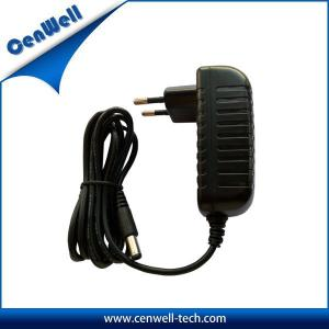 China cenwell ac dc eu plug wall mount type 15v 1.2a charger adapter on sale