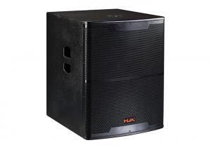 China 600W Pro Live Subwoofer SpeakerFor Concert , Live Pro Audio Speaker on sale