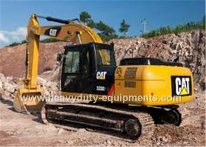 China midsize excavator, CAT brand with 1.3m³ bucket capacity, 323D2L, 116KW net power on sale
