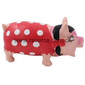 China Hot Sale pet toys New Style Latex Pig Dog Toy on sale