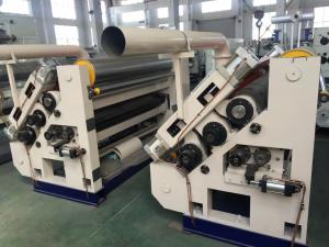 China Stable Operation Single Facer Corrugated Machine Corrugated Roller 280mm Glue Roller 215mm on sale