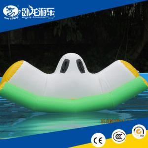 China Pleasure water park equipment inflatable water game toys for adults on sale on sale