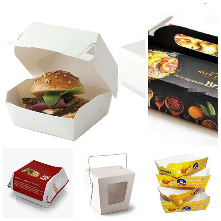 Greaseproof 260gsm 300gsm 350gsm + 15g PE Coated Cardboard For Food Container