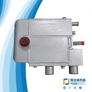 China air dryer cooler Evaporative air cooler  evaporator condersor brazed aluminum plate bar heat exchanger on sale