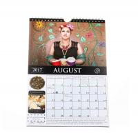 Unique Fashion Giant Monthly Wall Calendar Coated Paper With Hanger