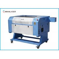 China Water Chiller 60W 80W CO2 Wood Leather Fabric Fast Speed Laser Engraving Machine on sale