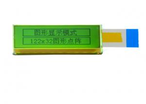 China 122 X 32 Active Matrix Tft Color Lcd Display Module Controller Sdn1661 6 O'Clock Viewing Angle on sale