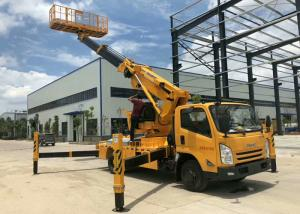 China Automatic 12m Cherry Picker Aerial Lift Truck Electronical Controlled Lifting on sale