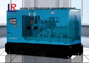China Four Stroke 120kw Soundproof Gas Power Generator with Brushless Natural Aspirated on sale