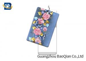 China Fantastic Label Custom Printed Hang Tags 3D Lenticular Card PET / PP Printing on sale