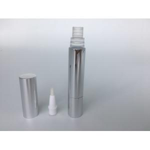 Quality Eco Friendly Fully Stocked Empty Twist Pen , Silver 4 Ml Empty Lipstick Containers for sale