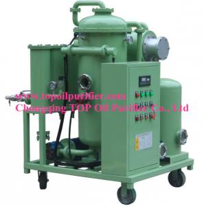 China Used hydraulic oil filtration plant,lubricating oil purifier system, deeply dewater,degas,get CE,ISO9001 approval on sale