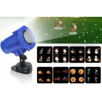 China 8 In 1 Cartoon Slides LED Projector Lights Christmas Halloween Party Wedding Outdoor Stage Decorative Lighting on sale