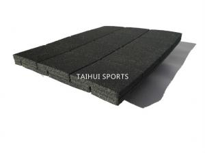 China Two Sides Grooved PE Polymer Artificial Turf Shock Pad Shockproof Artificial Grass Underlay Recycled Various Thickness on sale