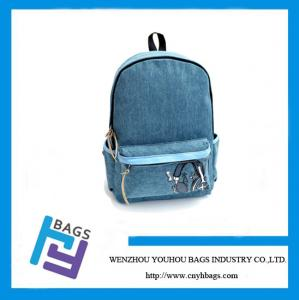 China Canvas Backpack,Canvas School bag with high quality on sale