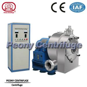Quality PWC Pusher Horizontal , Spiral Discharging Filtrating Pharmaceutical Centrifuge Equipment for sale
