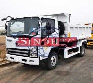 China 5 Tons 6 Wheeler Light Duty Dump Trucks For Construction Material Transport on sale
