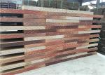 Cor antiga dos blocos de cimento perfurados exteriores da parede da construção da construção