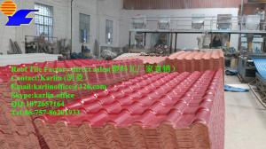 China ASA UPVC ABS Villa roof tile Synthetic resin roofing tile  sheet on sale