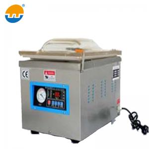 China Automatic single chamber food meat grains table vacuum sealer vacuum packing machine on sale