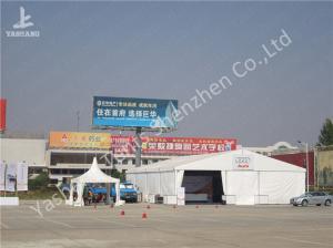 China Outdoor UV Resistant Aluminum Profile AUDI Car Exhibition Tent PVC Fabric Cover on sale