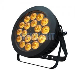 China High Refresh Rate 200W RGB LED Stage Light , 18*10W Stage Par Can Lights For Weddings on sale