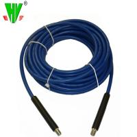 Professional producer canvas cover flexible hose for hot water high pressure car washing hose