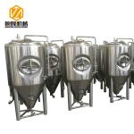 Large Beer Fermentation Tanks 4 Stainless Steel Legs With Leveling Foot Pads