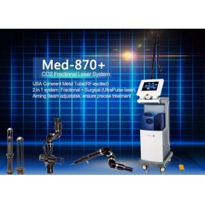 China Co2 Fractional Laser Skin Resurfacing Equipment Built-in Circulating Water Cooling on sale
