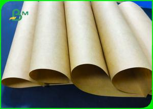 China 80gsm 100gsm 120gsm 61 * 86cm Brown Kraft Bag Paper For Packaging Food on sale