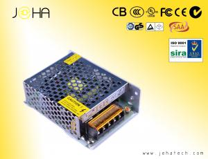 China 60W power supply 12 volt 5 amp,pass CE,EMC,LVD,ROHS,for LED strip,CCTV camera,2 year warranty on sale