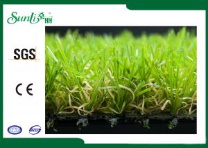 China Natural Looking Durable Outdoor Artificial Turf For Gardens Excellent Performance on sale