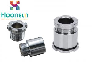 China Waterproof Brass Chromiun Plated Marine Cable Gland JIS25 Electroplating Surface Treatment on sale