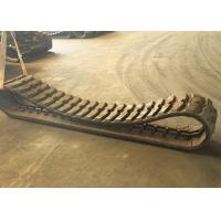 Strong Tensile Strength Excavator Rubber Tracks For Construction Heavy Machinery