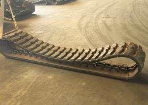 China Strong Tensile Strength Excavator Rubber Tracks For Construction Heavy Machinery on sale