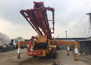 China 2012 Year Used 42m Truck Mounted Concrete Pump Volvo Chassis Diesel Power Type on sale