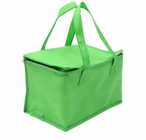 China Non-woven Material and Food Use commercial cooler bag. size:25cm*20cm*20cm on sale