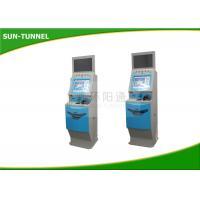 Automatic Payment Terminal Fast Ticket Machine , Modern Design Train Station Ticket Machines