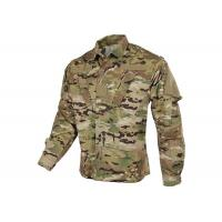 Tilted Chest Pocket Polyester Army Military Uniforms / Winter Work Jackets