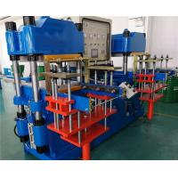 2500 KN Silicone Plate Vulcanizing Machine Double Stations 250 mm Plunger Stroke