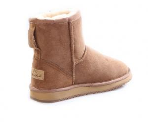 China Top quality double faced australia merino sheepskin women winter snow boots on sale