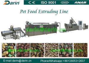 China Stainless Steel 304 Cat Food Machine / dry Pet snacks extruder machine on sale